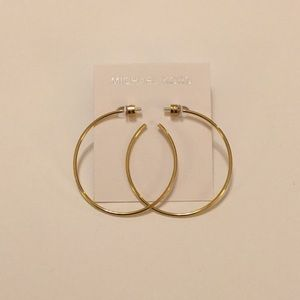 Michael Kors Gold Hoop Earrings